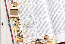 *1 Samuel -Bible Journaling by Book / Bible Journaling examples from the book of 1 Samuel