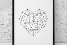 Schule Geometrisches malen