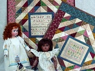 Little Quilties / Doll quilts, wall quilts, table toppers, all things small in quilts.