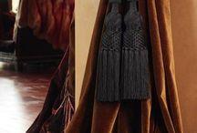 Velvet opulence / Furniture, drapes and clothing