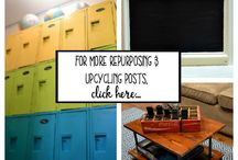 The DIY Bungalow | Repurposing and Upcycling / Repurposing and upcycling projects from The DIY Bungalow. Find projects for how to turn thrift store, estate/yard sale, and salvaged items into fun, useful, and lovely pieces for your home!