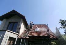 Olanex / Firma zajmująca się oczyszczanie różnorodnych powierzchni metodą alpinistyczną