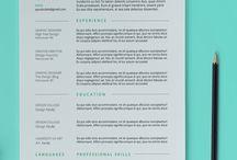 interestin resume template
