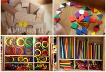 early years ideas, peolpe, materials