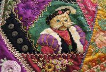 QUILTING CRAZY / Cuda z tkanin i hafty