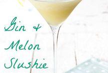 Frozen Cocktails / Frozen Cocktail Recipes, Summer Cocktail Recipes