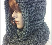 hooded scarfs