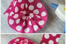 Kids Crafts: Crepe Paper