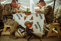 Thanksgiving / Whether you're having Thanksgiving with family or friends, Military families bring different traditions and recipes to the table.