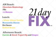 21 day fix / by Mary O'Heir
