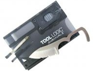"""TOOL LOGIC / Tool Logic is a division of SOG that makes the """"Credit Card Companion"""" and other really nice tools."""