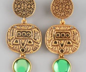 Earrings / by Olga Adler -- Interior Designer