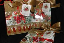 Luxury Gift Tags and Bags / Highly embellished Gift  Tags and Bags to make your gift that extra special