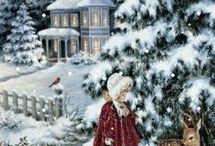 Karácsonyi képek-díszek