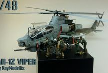 Scale Model Helicopter