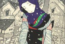 Takehisa Yumeji - woodblock print