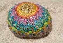 Mandala Painted Rocks
