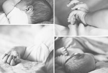 Photos / style of newborn photos: relaxed, at home, candid, close ups of the baby's features, etc.