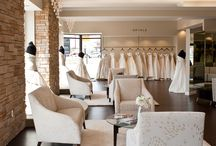 Bridal salon interior