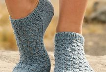 crochet socks and slipers