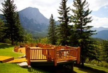Weddings Jasper National Park / The Overlander Mountain Lodge at the edge of Jasper National Park is the perfect venue for a wedding