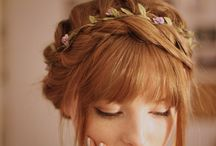 Hair Styles: Oh so pretty / Fancy, whimsical and beautiful hairstyle you can do anytime anywhere. Better learn to braid first though.. I learned to braid on youtube