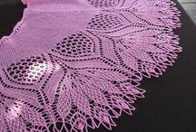 Knitting Wrap