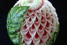 Φρουτοσκαλίσματα -Fruit Carving