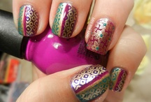 Bollywood Inspired Nail art / by Ruby D