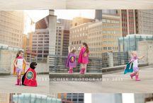 Photoshooting - Superhelden