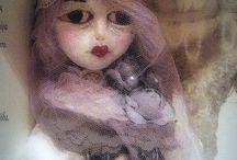 Le Secret De La Poupee / my own handmade ooak dolls and art