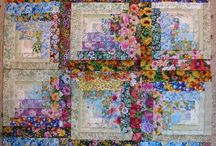 Log Cabin Quilts / by Cathy Robertson