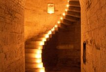 Подсветка на лестницах