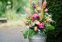 kościół - kwiaty