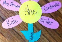 Stuff pour les enfants / Creative ideas to do with the children