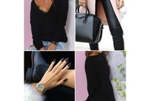 ALL ABOUT BLACK / FASHION BEAUTY  ACCESSORIES  SHOES