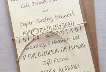 Wedding invitations & others