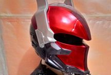 $325 FREE Shipping Worldwide (Batman Arkham Knight Helmet) / Products description :  Batman Arhkam Knight Mask made of fiber glass + the real helmet inside with good paint. * The Shield Can be opened and comes with black shield  * Added 2 LED Lights. * LED lights color available : BLUE, GREEN N RED + On/Off Switch * Size Available M.L.XL * The Helmet basic has a DOT Approved * We Ship Worldwide * Color & Airbrush by Request  To see more design, Go Follow Us on #Instagram @doctorhelmet