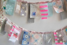 Bunting, garlands and mobiles