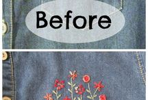Refashion Embrodery Cloathing
