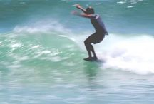 Surf clips. / The still images are from vimeo and clicking the picture will take you to the video in couch mode. The youtube videos can be watched trough an iframe directly on this site. / by Carletes Saez
