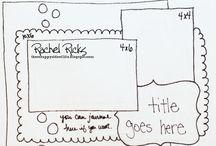 Scrapbook sketches / by Renee Mason Osmond