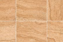 Cork by Verve / Porcelain Tile Available in 12x12, 20x20, & 16x24 with Trim, Mosaic & Triangle Decos Available