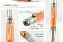 Robertson Pens / This board features our new custom pen product line.