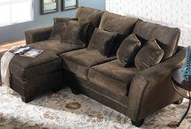 Sofa w/chaise