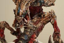 Sci Fi Sculptures / Handmade sci fi sculptures for sale.