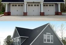 Exterior - Garages (With Living Quarters) / Exterior garage ideas (With Living Quarters).  Follow us on Facebook: https://www.facebook.com/DTracConstructionLtd Visit Our Website: www.dtracconstruction.com Follow us on Twitter: https://twitter.com/DTrac_Edmonton