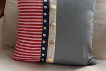 nautical cushion strips