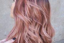 pink/purple/ rose gold hair♀️