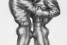 Tom of Finland / Wonderful art of Finnish artist Touko Laaksonen a.k.a. Tom of Finland